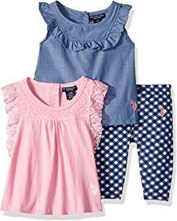 214fa8045 U.S. Polo Assn. Baby Girls Casual Dress