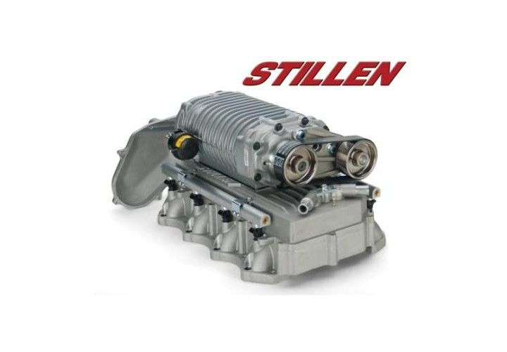 STILLEN 2007-2015 Nissan Titan Supercharger System - Tuner Kit - Silver Finish 4