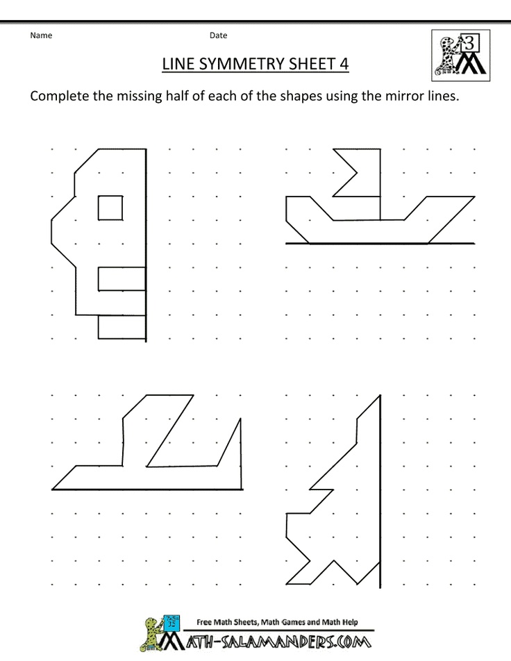 2nd Grade symmetry worksheets for 2nd grade : 37 best Symmetry images on Pinterest | Symmetry worksheets ...
