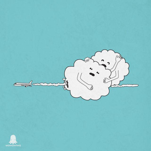 Cloud murder - Happy drawings :)
