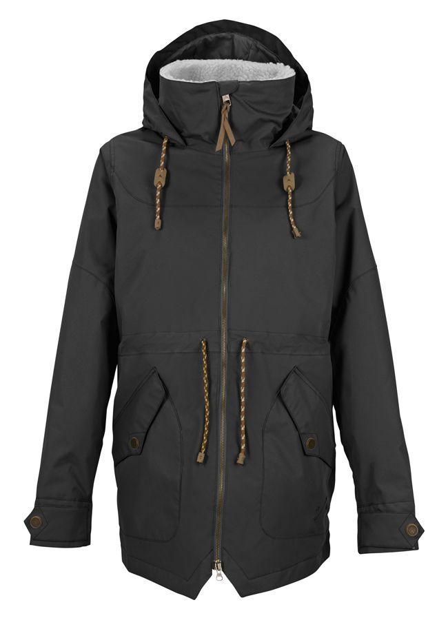 Burton 2016 Prowess Jacket True Black - Womens
