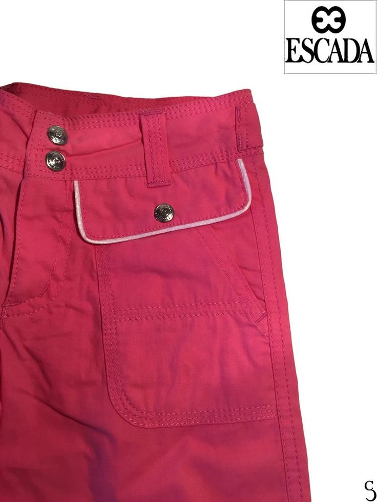 Escada Girls Amazing Pink Pants _ Size: 4 Ans #Escada #CargoCombat #EverydayHoliday