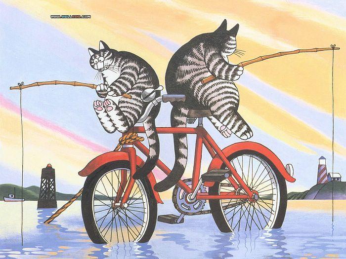 Cat Dreams : Amusing Cat Cartoons by Bernard Kliban - Cat Dreams