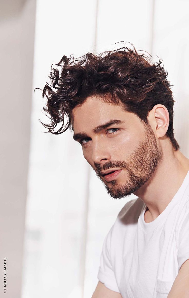 1000 Ideas About Cheveux Boucls Homme On Pinterest Coupe
