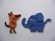 Elefant und Maus ( auch einzeln erh.)