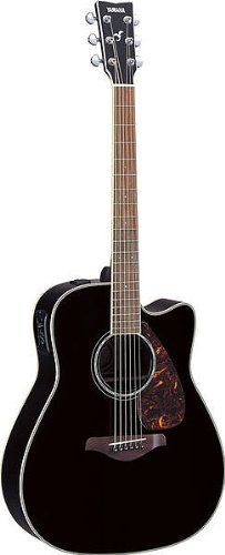 Save $ 365.01 order now Yamaha FGX730SC Acoustic Electric Guitar, Black at Cheap