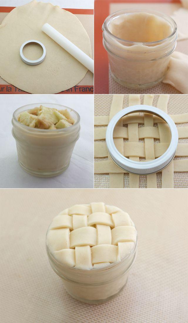 diy: pie in a jar + the most delicious apple pie recipe