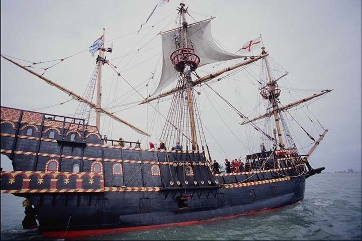 The Golden Hind Or Hinde Was An English Galleon Best Known