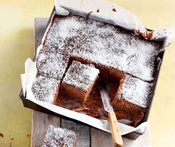 Kokos-Schokolade-Würfel