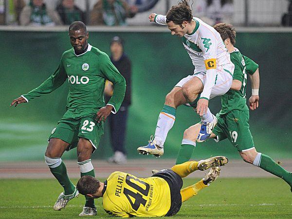 Deutliches Pokalaus, mit 5:2 gegen Werder Bremen (04.03.2009)