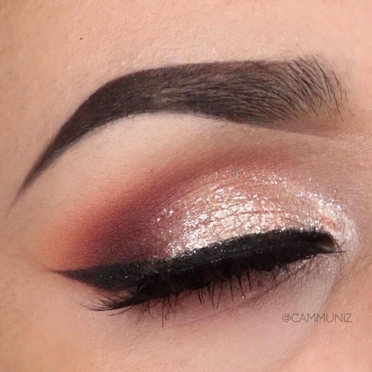'Stay Classy' Idea Gallery look created by the talented Cammuniz using Makeup Geek eyeshadows Bitten, Cinderella, Corrupt, Peach Smoothie, Shimma Shimma, White Lies, and Frappe.