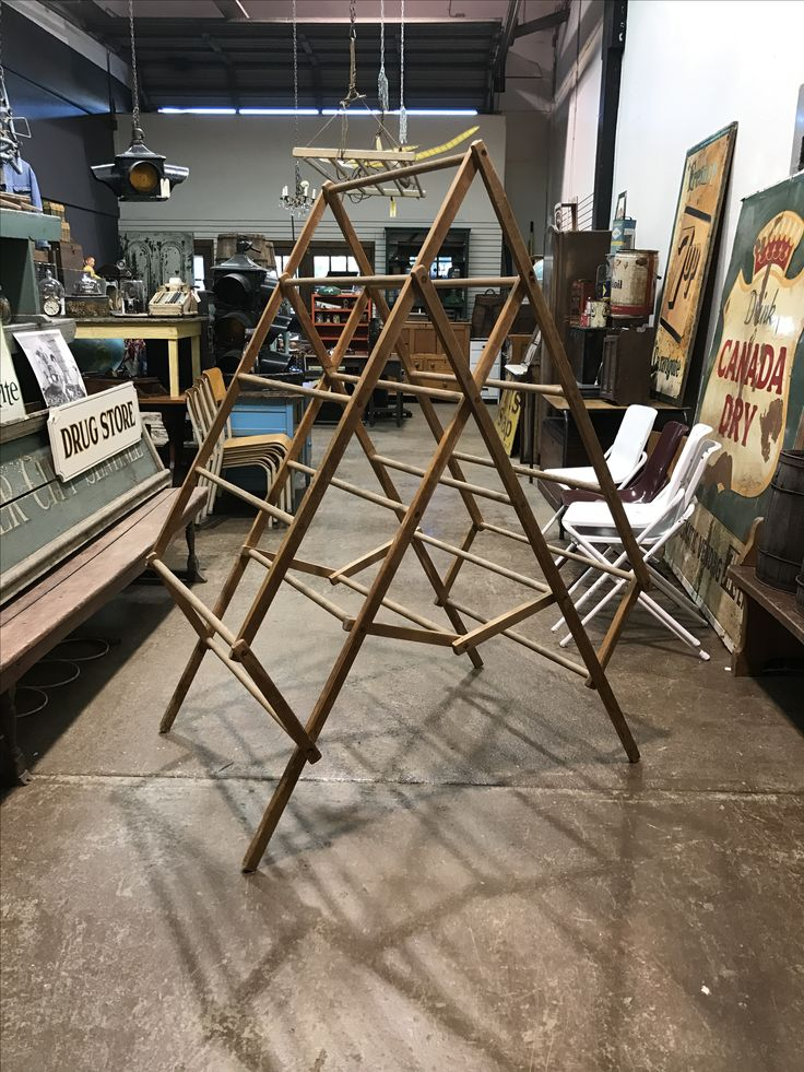 Antique Rustic Drying Rack