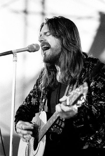 Musician Bob Seger performs Michigan July 2 1977