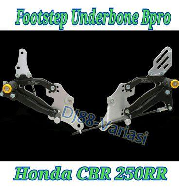 Underbone cbr 250rr bpro footstep depan bpro cbr250rr footrest depan bpro