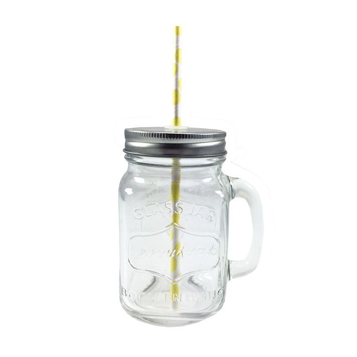 Drikkeglass med hank