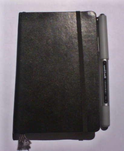 DIY pen clip for notebooks