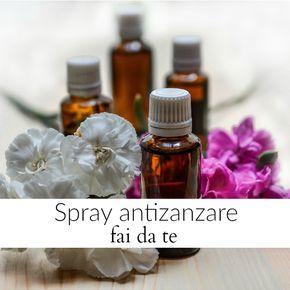 Come fare uno spray antizanzare fai da te con pochi ingredienti naturali. Spray completamente naturale con citronella e lavanda per allonanare le zanzare.