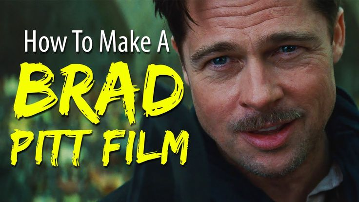 How To Make A #BradPitt Film In 4 Minutes Or Less