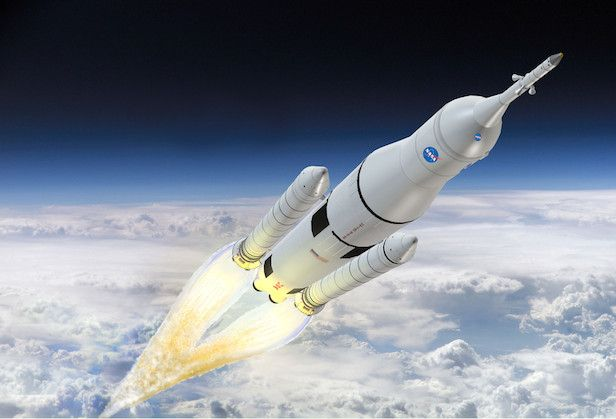 How do rockets work? -- Rockets are propelled in the same way as a balloon that has been blown up and let go.