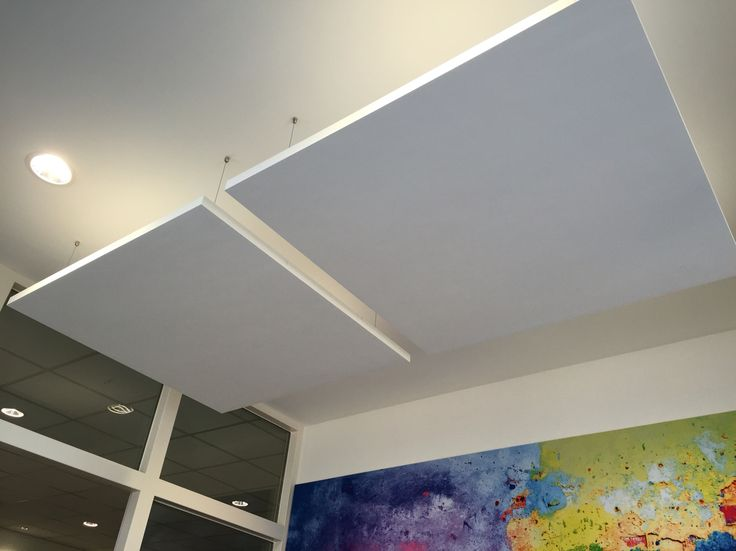 Reverb Ceiling Islands by Screen Solutions Ltd.