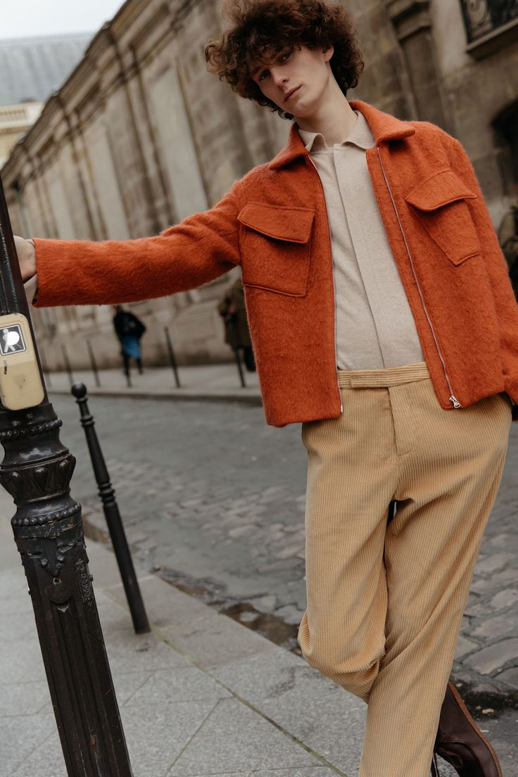 Deveaux Fall 2018 Menswear Fashion Show Collection