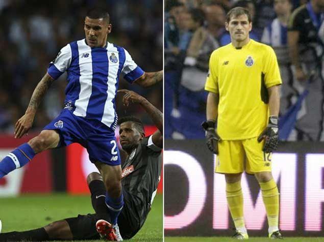 :.: Maxi e Casillas já rendem frutos - FC Porto - Jornal Record :.: Maxi Pereira e Iker Casillas, os dois reforços mais sonantes do FC Porto para esta temporada, estiveram em evidência na estreia oficial de ambos pelo clube, ajudando ao triunfo caseiro dos dragões sobre o V. Guimarães, por 3-0, no primeiro encontro no campeonato.  O lateral ex-Benfica fez dois passes que resultaram em golo: Primeiro de Aboubakar, depois de o uruguaio ter roubado a bola no meio-campo adversário e ter lançado…
