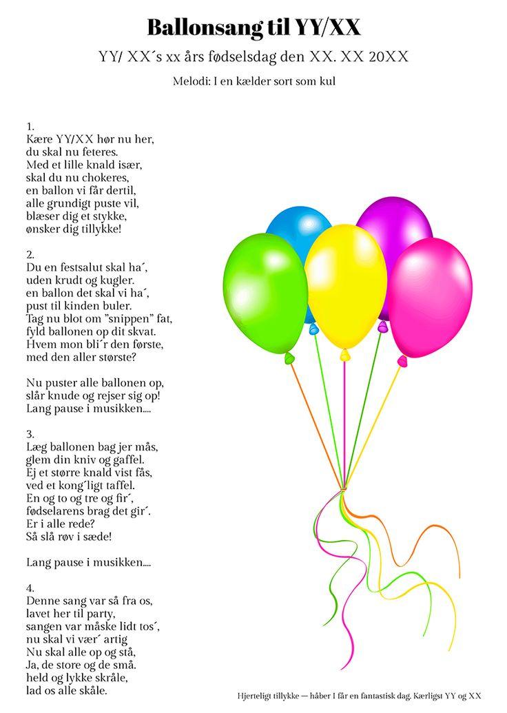 Ballonsangen til fødselaren