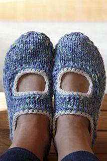 AK's slippers pattern by Anna Kaisa Piispanen