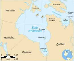 Baía de Hudson – Wikipédia, a enciclopédia livre