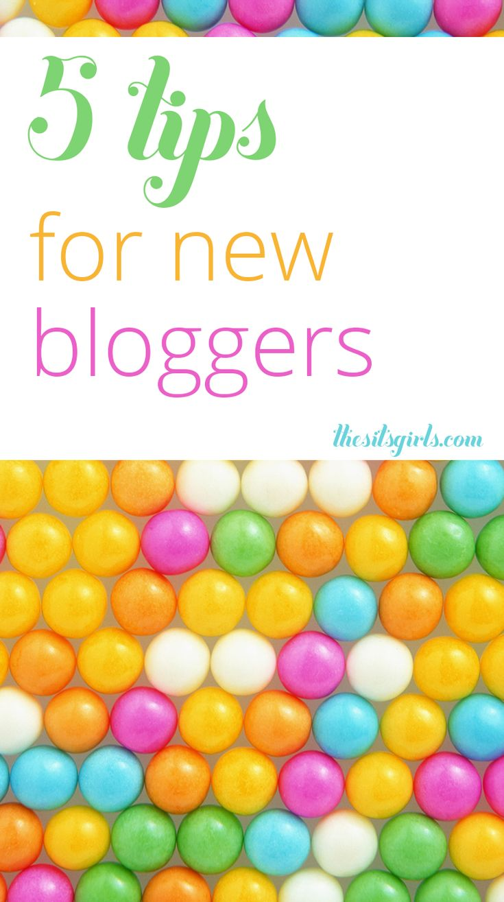 "Blog Tips | Started a blog and wondering ""Now what?"" You aren't alone! Our 5 tips for new bloggers will help you answer that question and get you headed in the right direction."
