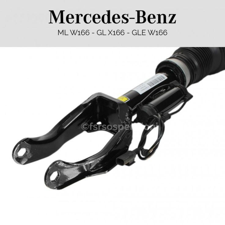 Ammortizzatore completo Mercedes-Benz Classe GLE W166 anteriore destro con ads