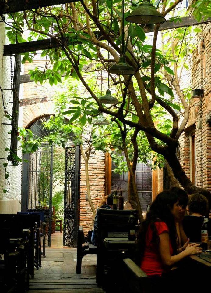 Bar in San Telmo, Buenos Aires, Argentina