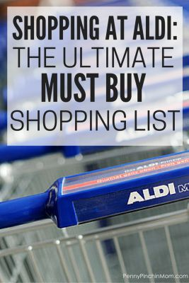 If you are new to shopping at Aldi, let me fill you in on a secret -- IT IS AMAZING! The prices can not be beat. Your budget goes so much further. Now, there are things we've tried that did not work (and others have agreed). We've compiled the ultimate MUST BUY Aldi shopping list to help you know what to grab (and what not to buy).