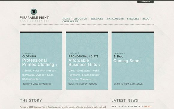 Minimal and color 25 Inspiring Examples of Texture Use in Minimal Web Design | Codrops