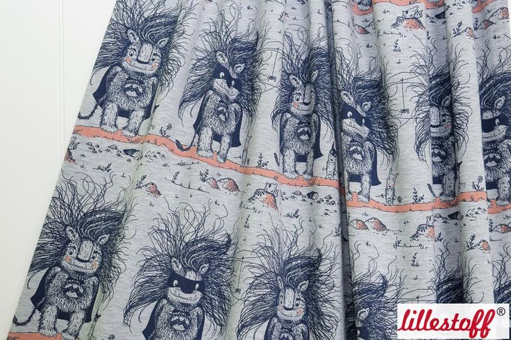 lillestoff » Monsterhelden « // Design: SUSAlabim // ausverkauft
