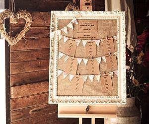 15 unique wedding table name ideas