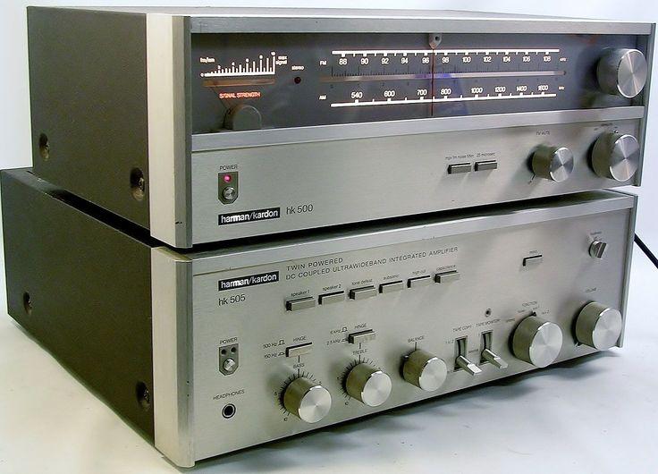 VINTAGE 1970's RARE HARMAN KARDON Hi Fi AMPLIFIER & TUNER. PHONO TURNTABLE INPUT | eBay