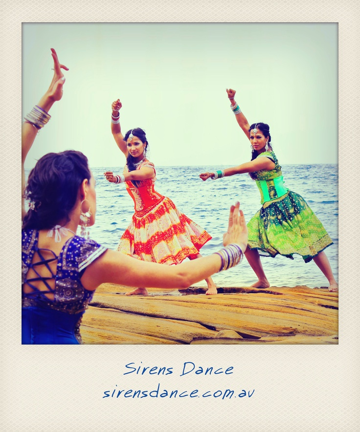 Florette, Ramona and Gracy of Sirens Dance bollywood.  Creative: Ali Beales.  Stylist: Llewellyn Love.