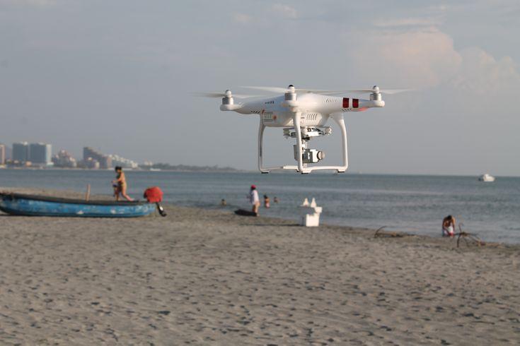 Dron Phantom Diurno