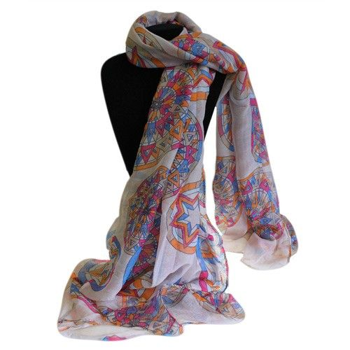 Wholesale Bit Posh Scarves | Hip AngelsThis Summer Scarf will make easy for your customers to dress up their wardrobe, for the price, the quality and style.  With this affordable scarf your customers will have more options. This amazing scarf has the finest finish touch with very Posh looking. #Wholesale_Scarves #Compass_Scarves #Fashion_Scarves #Trendy_Scarves