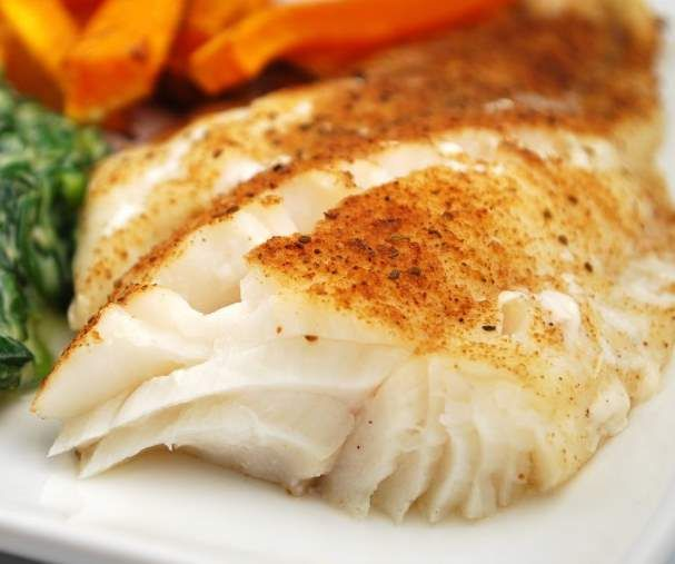 BAKED COD WITH DILL OR OLD BAY ~ POWERHOUSE OF NUTRITION