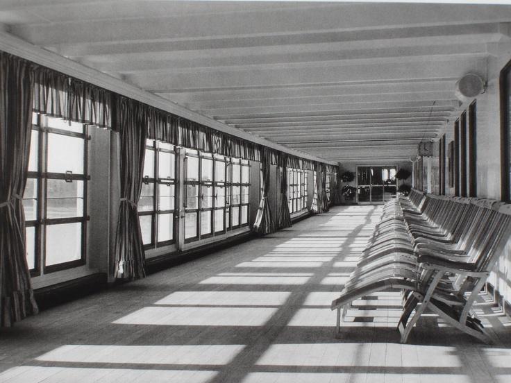 Andrea Doria enclosed promenade