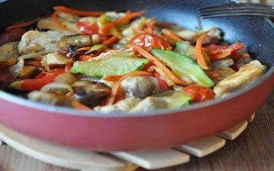 Соте из курицы с овощами. Благодаря французскому рецепту соте, вы сможете очень…