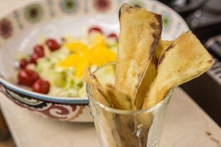 Friturinhas de Abobrinha do chef Roberto Ravioli