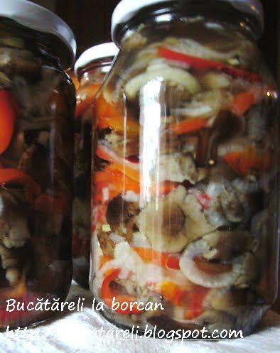Din coşul cu ciuperci (3): salată de ghebe cu gogoşari şi ceapă | BUCĂTĂRELI LA BORCAN