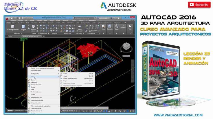 AutoCAD 2016 3D Curso Avanzado | Tutorial en Español | Configuración de ...