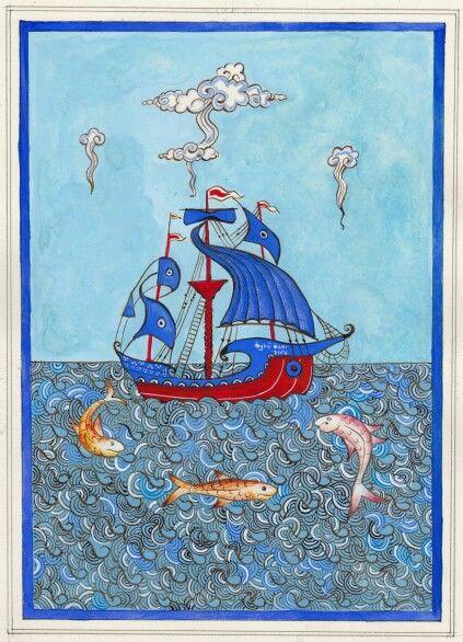 Öykü Özer - Gemi ve Balıklar