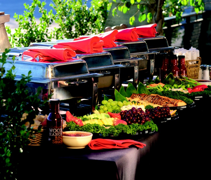 Bbq Wedding Reception Food Ideas: Professional Catering Presentations