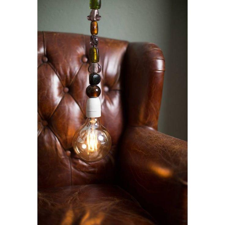 Klara amber/green - armchair