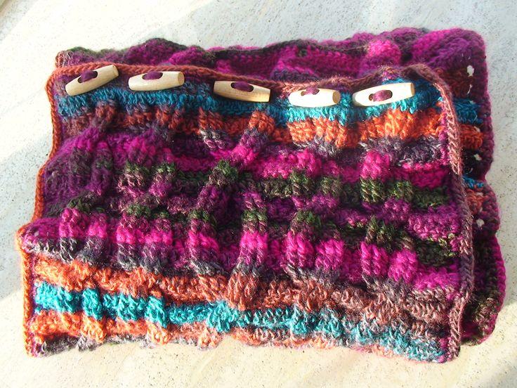 Kabel shawl/col Cadeautje